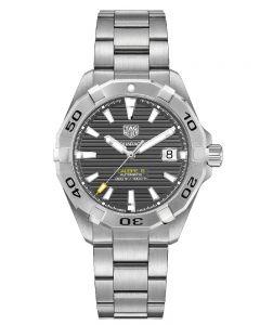 TAG Heuer Mens Aquaracer Calibre 5 Anthracite Bracelet Watch WBD2113.BA0928