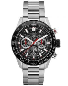 TAG Heuer Mens Carrera Calibre Heuer 02 Automatic Chronograph Bracelet Watch CBG2A10.BA0654