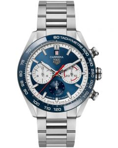 TAG Heuer Mens Limited Edition Carrera 160 Years Anniversary Blue Watch CBN2A1E.BA0643