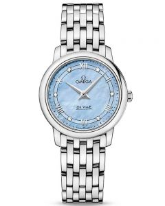 Omega Ladies De Ville Prestige Quartz Bracelet Watch 424.10.27.60.57.001