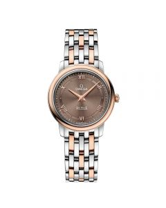 Omega Ladies De Ville Prestige Quartz Two Tone Bracelet Watch 424.20.27.60.13.001