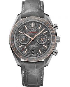 Omega Mens Speedmaster Moonwatch Leather Strap Watch 311.63.44.51.99.001