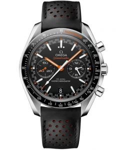 OMEGA Mens Speedmaster Racing Leather Strap Watch 329.32.44.51.01.001