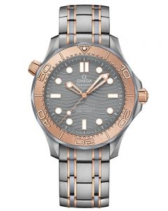 OMEGA Mens Seamaster Diver 300M Limited Edition 2018 Bracelet Watch 210.60.42.20.99.001