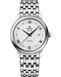 OMEGA Mens De Ville Prestige Co-Axial Bracelet Watch 424.10.40.20.02.005