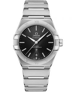 OMEGA Constellation Co-Axial Master Chronometer 39mm Black Bracelet Watch 131.10.39.20.01.001