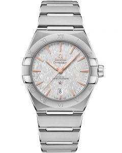 OMEGA Constellation Co-Axial Master Chronometer 39mm Grey Bracelet Watch 131.10.39.20.06.001