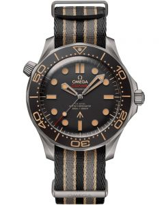 OMEGA Seamaster Diver James Bond 007 Edition Co- Axial Master Chronometer Watch 210.92.42.20.01.001