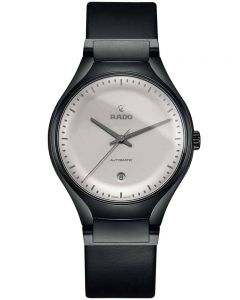 Rado Mens True Cyclo Limited Edition Grey Leather Strap Watch R27071105