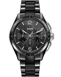 Rado Mens HyperChrome Automatic Chronograph Black Ceramic Bracelet Watch R32121152