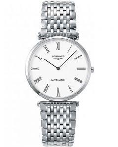Longines Mens La Grande Classique White Dial Bracelet Watch L49084116