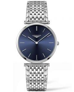 Longines Mens La Grande Classique Blue Dial Bracelet Watch L49084956