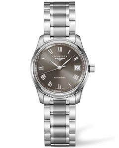 Longines Ladies Master Grey Dial Bracelet Watch L22574716