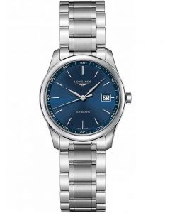 Longines Ladies Master Blue Dial Bracelet Watch L22574926