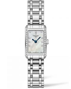Longines Ladies DolceVita Diamond Set Mother Of Pearl Dial Bracelet Watch L52580876