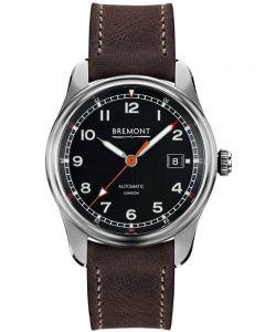 Bremont AIRCO MACH 1 Black Dial Strap Watch AIRCO MACH1/BK