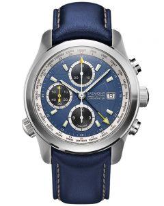 Bremont ALT1-WT WORLD TIMER Blue Strap Watch ALT1-WT/BL