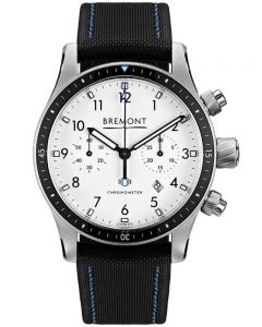 Bremont BOEING MODEL 247 Stainless Steel White Dial Watch BB247-SS/BK