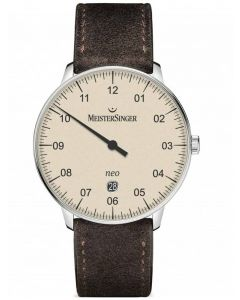 MeisterSinger Mens Neo Plus Automatic Strap Watch NE403