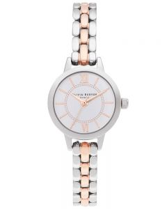 Olivia Burton Wonderland Silver and Rose Gold Bracelet Watch OB16MC50