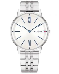 Tommy Hilfiger Cooper White Dial Stainless Steel Bracelet Watch 1791511