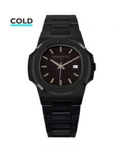 KAMAWATCH Vintage Dynamo Black and Green Camo Plastic Bracelet Watch KWP21
