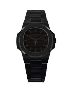 KAMAWATCH Limited Edition Fix Eclipse Black Plastic Bracelet Watch KWPF27