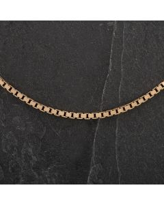 Second Hand 18 inch Yellow Gold Box Chain 4103025
