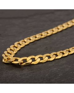 """Second Hand 9ct Yellow Gold 20"""" Curb Chain HGM43/04/07(10/19)"""