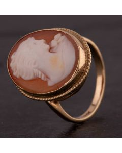 Second Hand Oval Cameo Ring 4109240