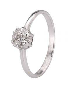 Second Hand Diamond Seven Stone Cluster Ring