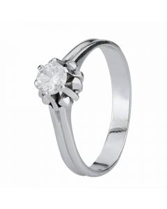 Second Hand 0.40ct Diamond Solitaire Ring