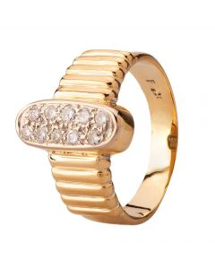 Second Hand Ten Stone Diamond Ring