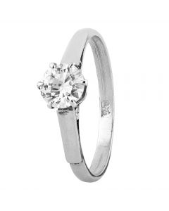 Second Hand 0.50ct Diamond Solitaire Ring