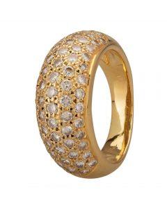Second Hand 1.30ct Diamond Five Row Pavé Ring M325252(441)