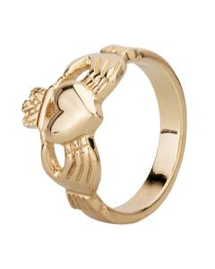 Second Hand Yellow Gold Claddagh Ring 4115913