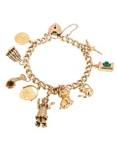 Second Hand Traditional Charm Bracelet
