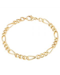Second Hand Figaro Chain Bracelet
