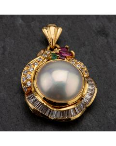 Second Hand 9ct Yellow Gold Pendant 4166539