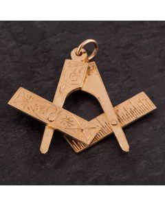 Second Hand Moveable Masonic Pendant 4166605
