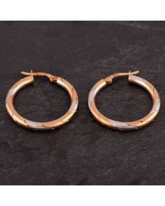 Second Hand Hoop Earrings 4183620