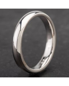 Second Hand 18ct White Gold 3mm Wedding Ring 4187027