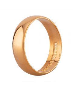 Second Hand 22ct Yellow Gold 5mm Plain D-Shape Wedding Ring