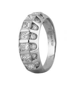 Second Hand Platinum 2.25ct Multi Diamond Ring