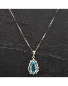 Second Hand Platinum Diamond Pendant 4314435