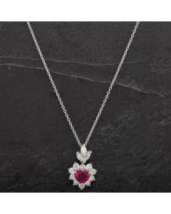 Second Hand Platinum Diamond Pendant 4314484