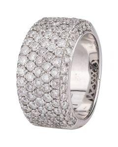 Second Hand 9ct White Gold 2.00ct Diamond Ring