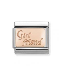 Nomination Composable Classic Engraved Gold Girl Friend Link 430108/13