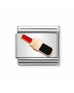 Nomination CLASSIC Rose Gold Lipstick Charm 430202/06 *