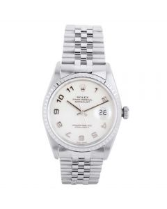Rolex Mens Oyster Perpetual Datejust Watch 16220 - Year 2001